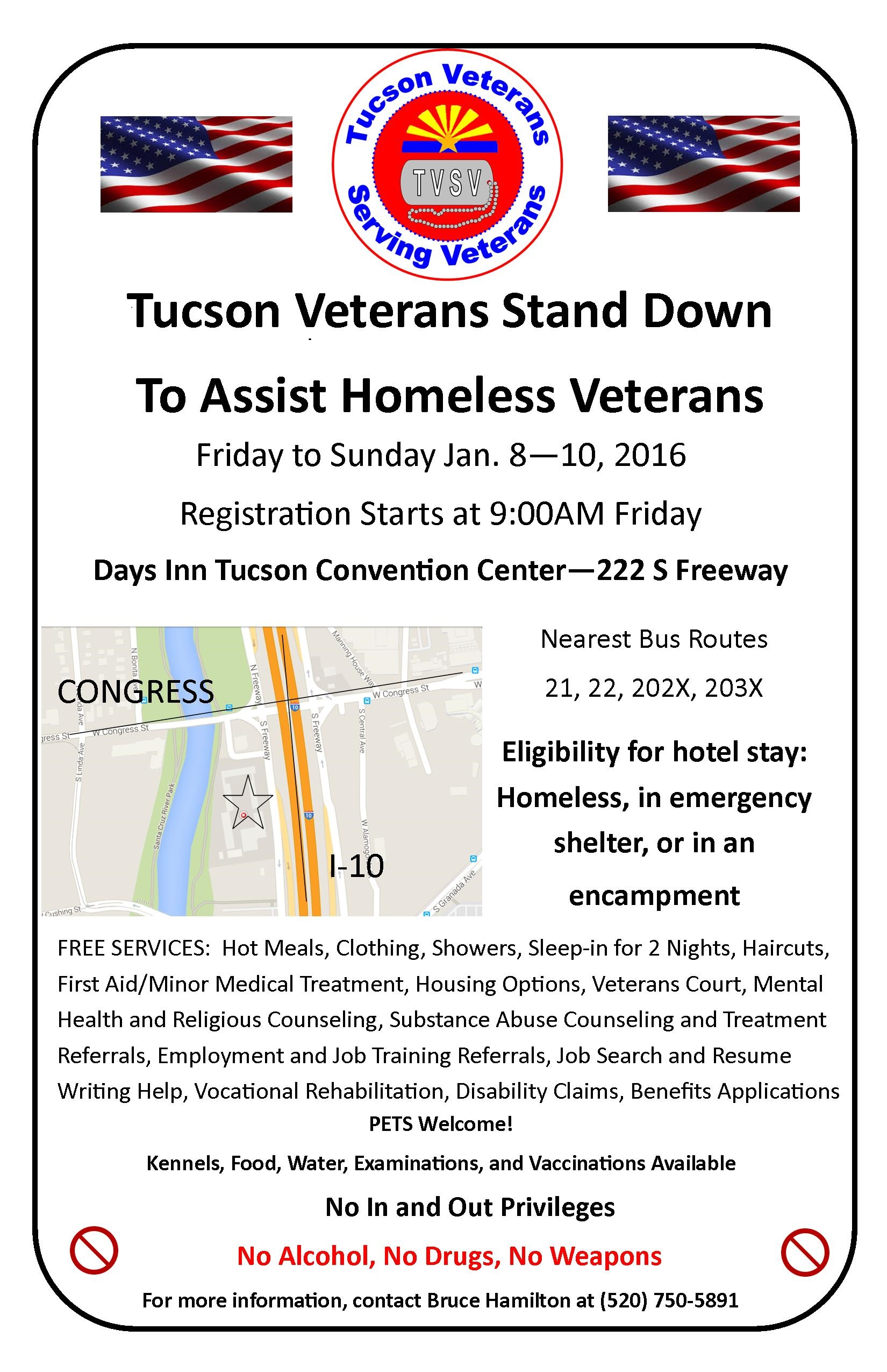 Veterans First Ltd Tuscon Veterans Stand Down To Assist