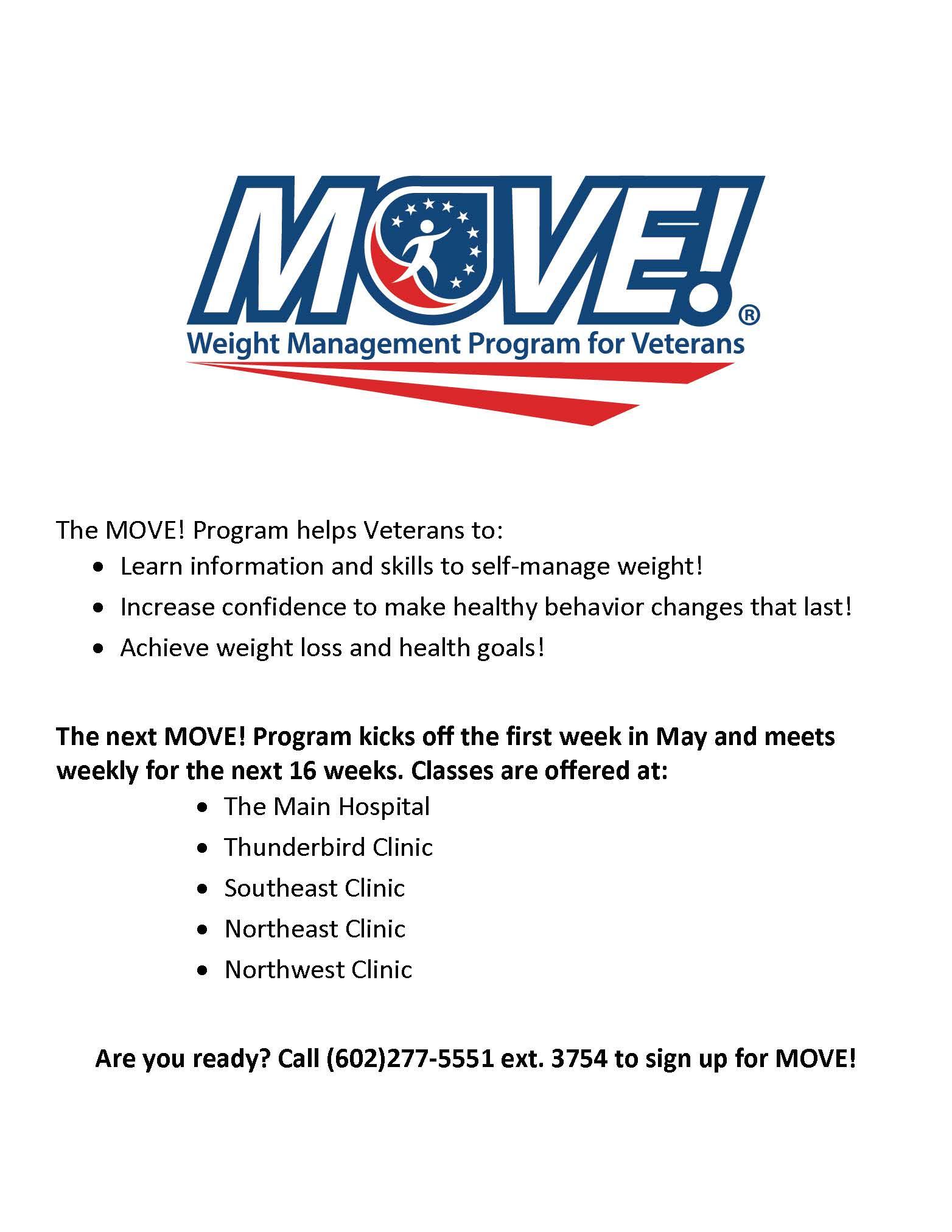 Veterans First LTD   Weight Management Program for ...